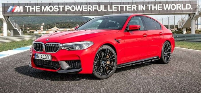 2018 BMW M5 in Rosso Corsa Red – Video