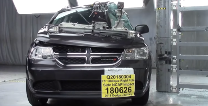2018 Dodge Journey MPV SUV Crash Test & Rating