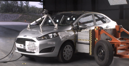 2018 Ford Fiesta 4 Door Sedan Crash Test & Rating