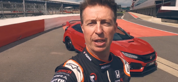 2018 Honda Civic Type R Silverstone Circuit Record Lap – Video