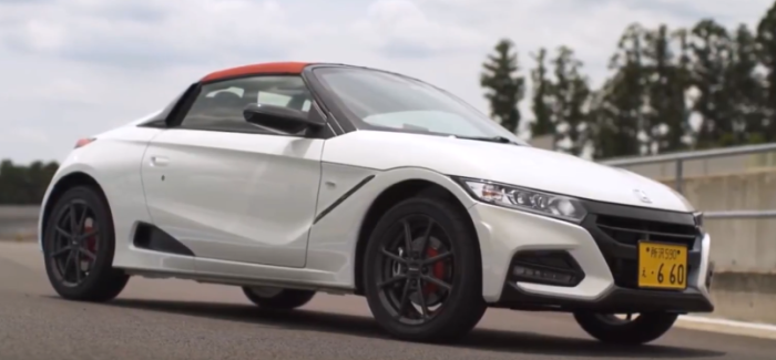 2018 Honda S660 Modulo X – Video