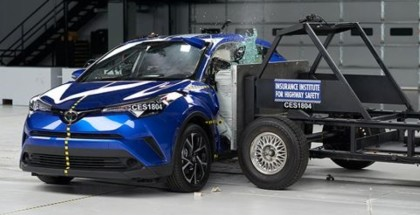 2018 Toyota C-HR Crash Test & Rating