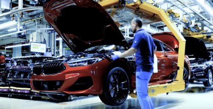 2019 BMW 8 Series M850i Coupe Factory
