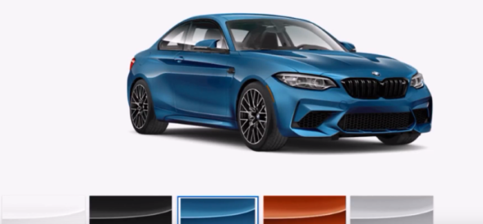 2019 Bmw M2 Competition Colors Video Dpccars