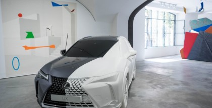 2019 Lexus UX Art Space