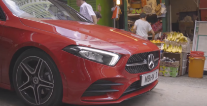2019 Mercedes A-Class In Hong Kong