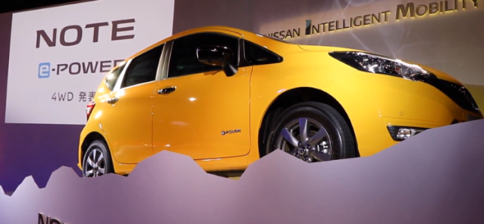 2019 Nissan Note e-POWER 4WD – Video