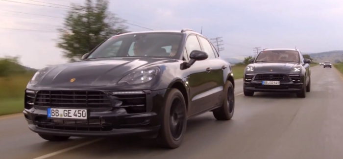 2019 Porsche Macan SUV Testing – Video