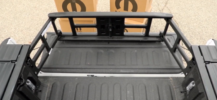 2019 Ram Truck Bed Load Security – Video