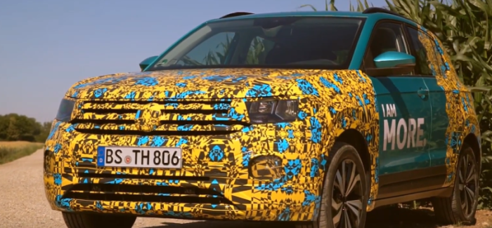 2019 VW T-CROSS Getting Ready For Reveal – Video