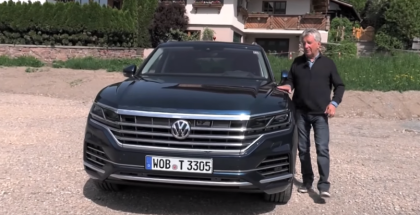 2019 Volkswagen Touareg - German Review