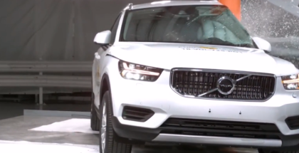 2019 Volvo XC40 Crash Test & Rating
