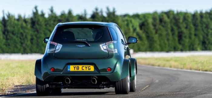 430BHP Aston Martin Cygnet V8 Exhaust Sound – Video