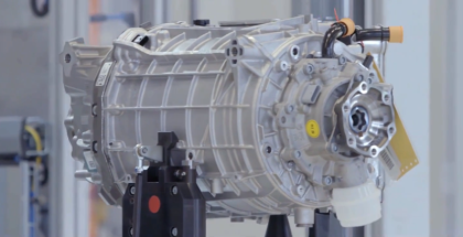 Audi Electric e-tron Motor Factory
