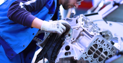 BMW 8 Series Coupe M850i V8 Engine Assembly