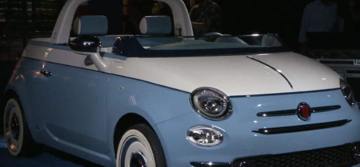 Fiat 500 Spiaggina By Garage Italia Unveiling Video Dpccars