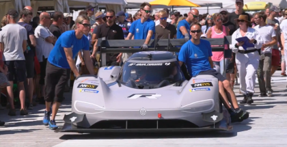 Goodwood Record For The VW ID R Pikes Peak