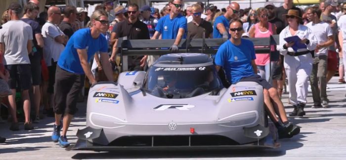 Goodwood Record For The VW ID R Pikes Peak – Video