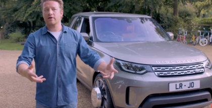 Jamie Oliver Land Rover Discovery Being Built
