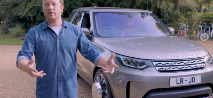Jamie Oliver Land Rover Discovery Being Built – Video