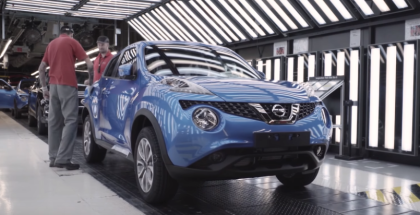 One Millionth Nissan Juke built At Factory