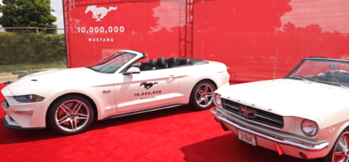 10 Millionth Ford Mustang – Video