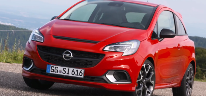 2018 Opel Corsa GSi – Video