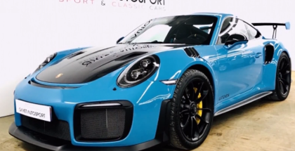 2018 Porsche 911 GT2RS In Miami Blue