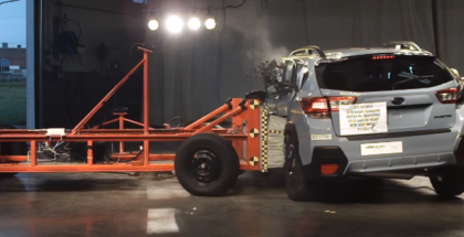 2018 Subaru Crosstrek Crash Test & Rating