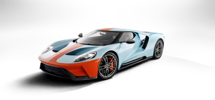 2019 Ford GT Gulf Heritage Edition On Race Track – Video