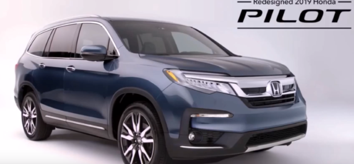2019 honda pilot review video dpccars. Black Bedroom Furniture Sets. Home Design Ideas