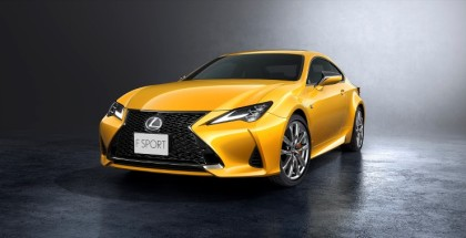 2019 Lexus RC 300h & 350 Preview