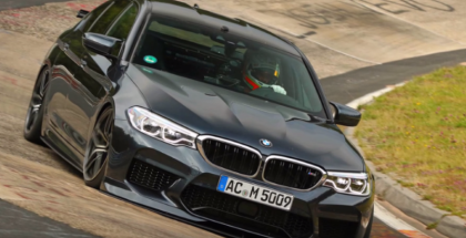 700HP BMW M5 By AC Schnitzer On The Nurburgring