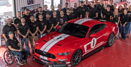 808HP Ford Mustang Heritage Edition By Hennessey