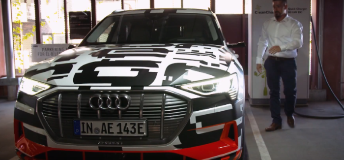 Audi e-tron Prototype fully charged in nearly 30 minutes – Video