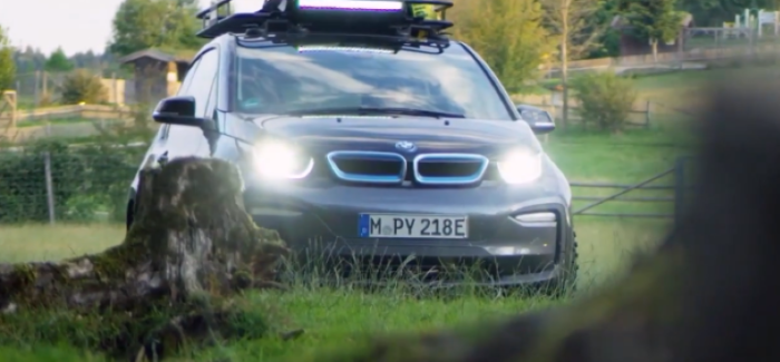 Silent 2019 BMW i3 as an electricity Dispenser – Video