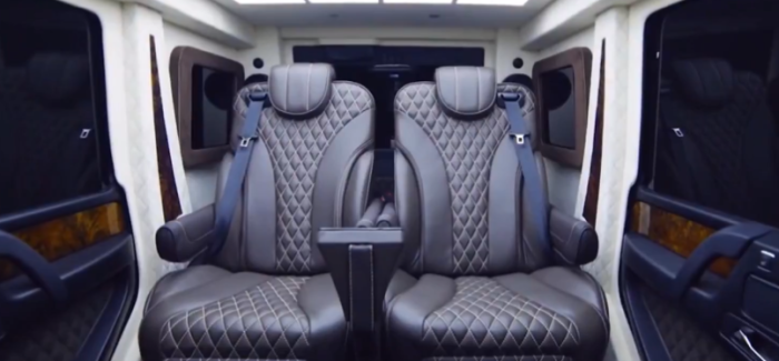 Bulletproof Mercedes AMG G63 Armored Limo By Inkas – Video