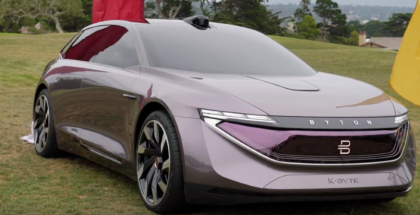 Byton K Byte Concept Electric Sedan