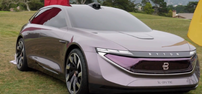 Byton K Byte Concept Electric Sedan – Video