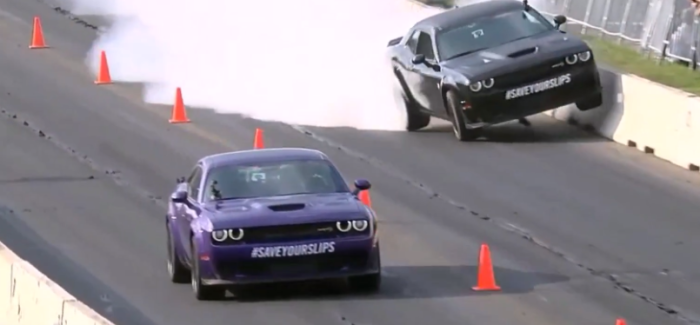 Dodge Challenger Hellcat Widebody Richard Rawlings Drag Racing Crash – Video
