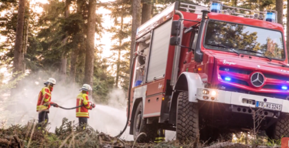 Extreme Off Roader Unimog U5023 Fire Truck