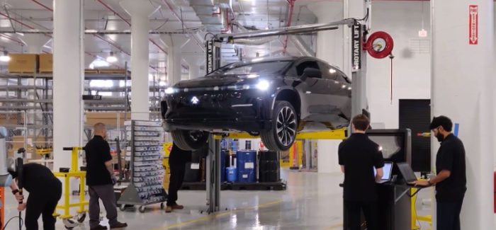 First Electric Faraday Future Pre Production FF91 – Video