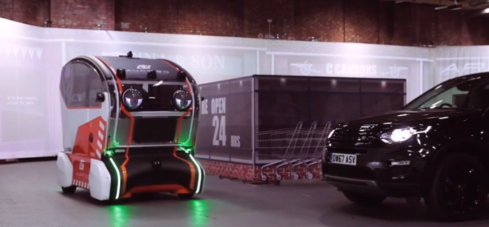 Jaguar Land Rover Virtual Eyes Intelligent Pod – Video