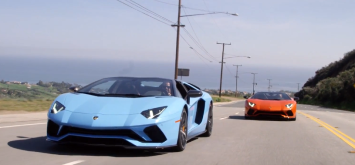 Lamborghini Aventador S Roadster – Video