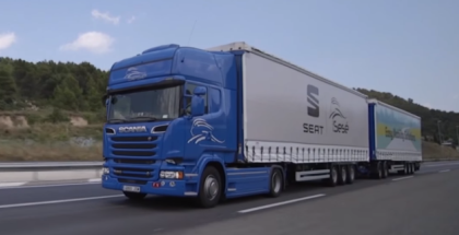 Longest Semi Truck on the Road in Europe By SEAT