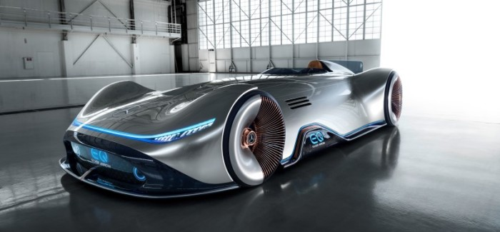 Mercedes Vision EQ Silver Arrow – Video