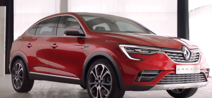 Renault Arkana Coupe Crossover – Video
