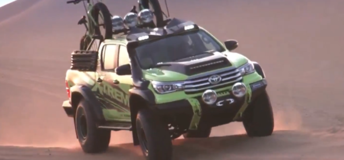 Toyota Hilux Xtreme Concept Truck
