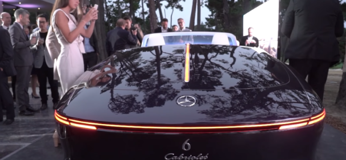 Vision Mercedes Maybach 6 Cabriolet – Video