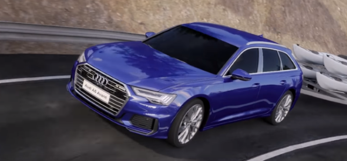 2019 Audi A6 Avant Animation Trailer Assist & Mild Hybrid MHEV – Video